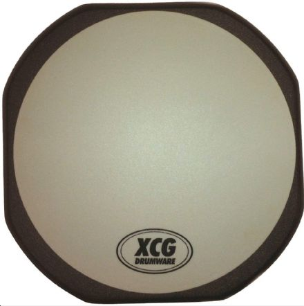 "XCG Drumware 6"" Drum Practice Pad  - WITH FREE SET OF DRUMSTICKS"